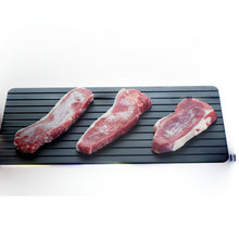 Load image into Gallery viewer, Fast Defrosting Tray: The Safest Way to Defrost Meat Or Frozen Food
