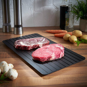 Fast Defrosting Tray: The Safest Way to Defrost Meat Or Frozen Food
