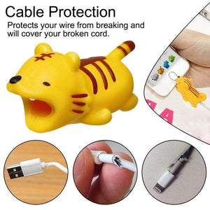 Cute Cartoon Phone Cable Protector