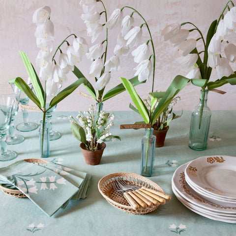 Lily of the Valley Linen Napkin