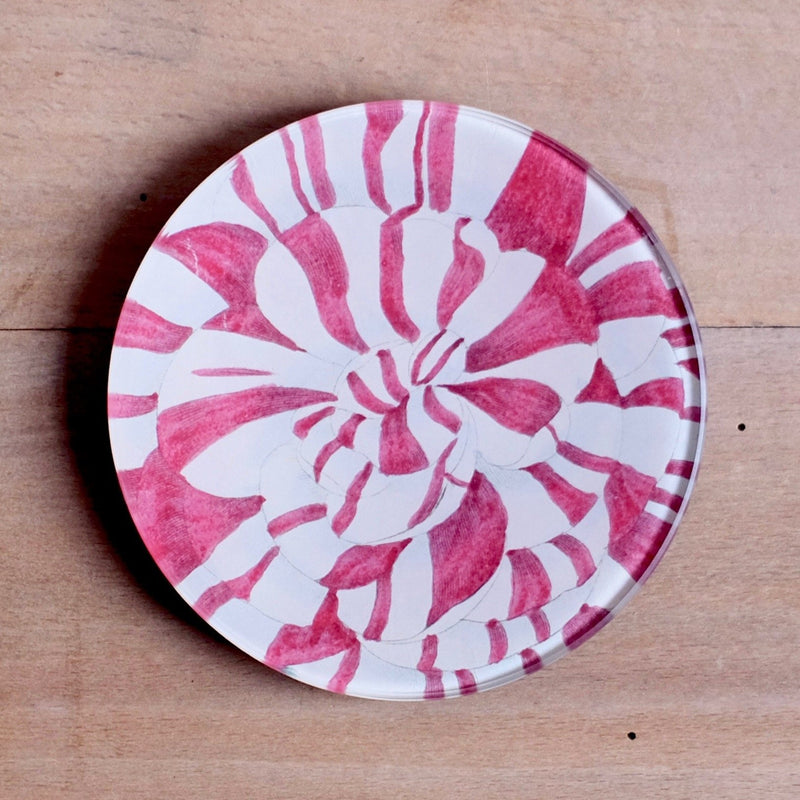 "Candy Striped, 4"" Round"