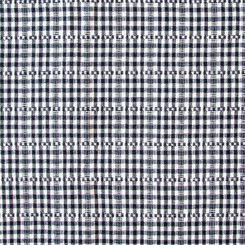 Woven Tablecloth, Soho, Black and White