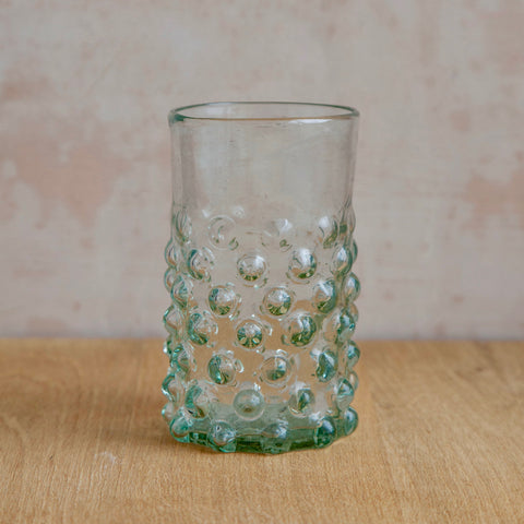 Mouthblown Syrian Recycled Glasses (Clear)