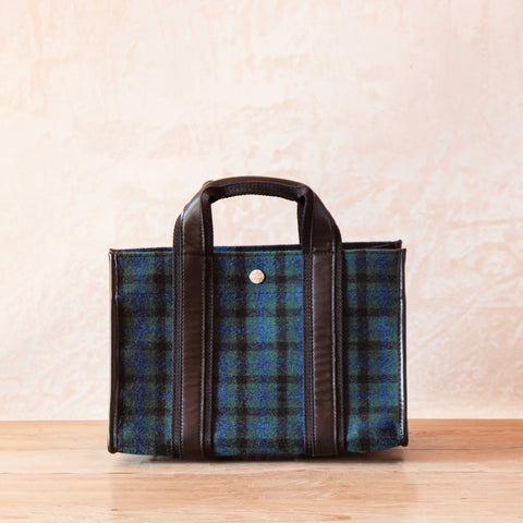 Upper East Flannel Tote, Small