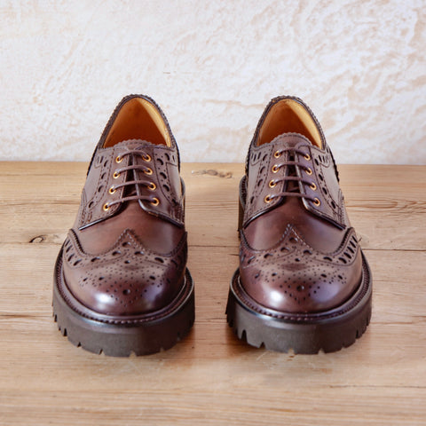 April Calf Brogue (Dark Brown)