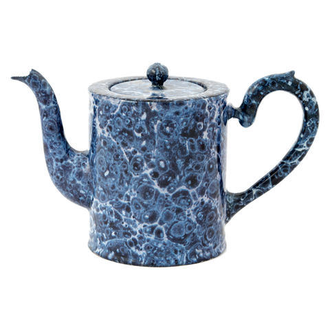Blue Marble Small Teapot