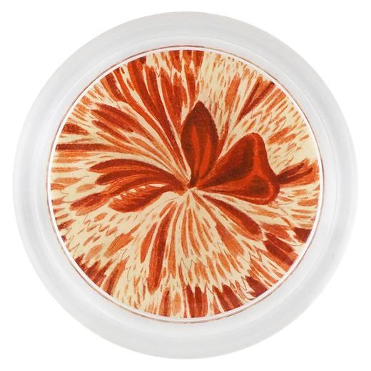 "Caryophyllus (Floral) Coaster, 6"" round, Assorted"