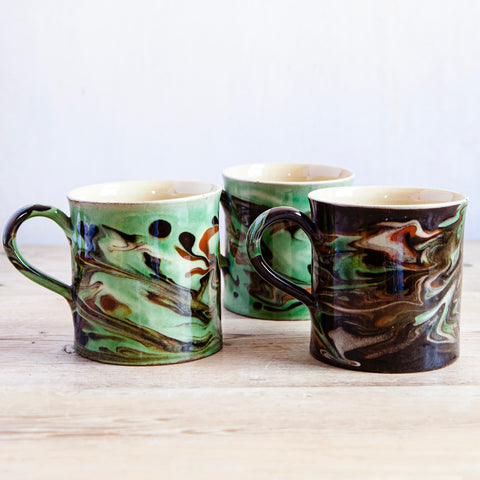 Hand-Glazed Ceramic Mug