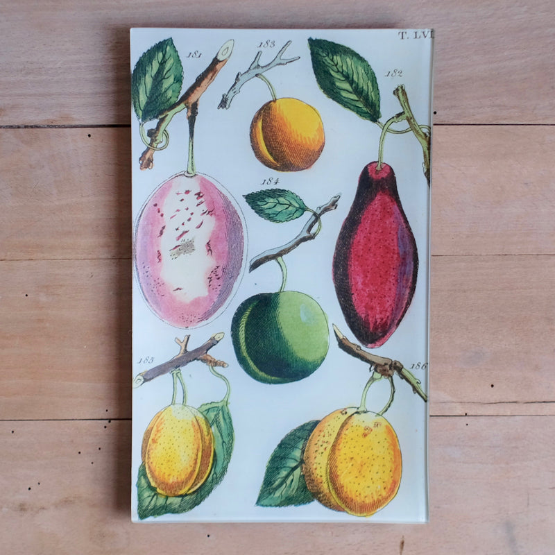 "Plum LVI, 7x11.5"" Rectangular Tray"