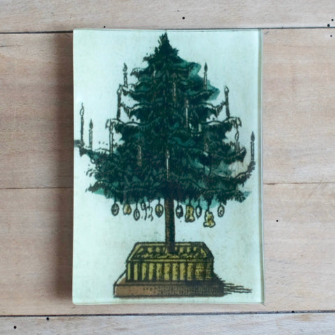 "Christmas Tree, 4.5 x 6.5"" Mini-Tray"