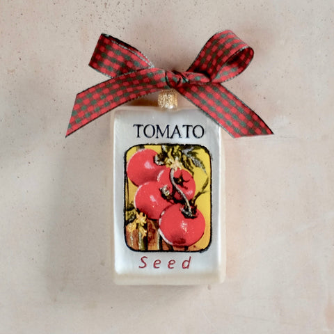 Tomato Seed Packet Ornament