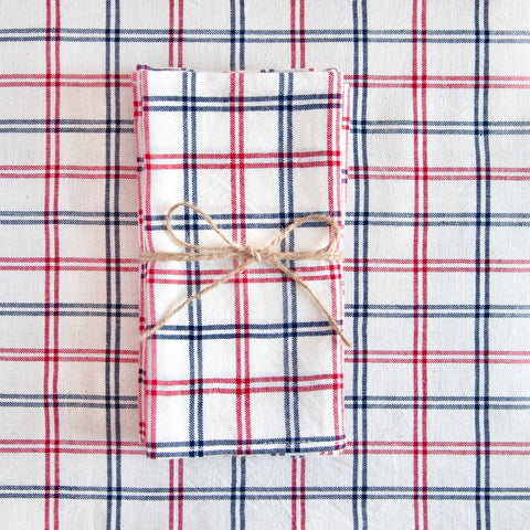 Woven Napkin, Mayfair Plaid, Set of 4