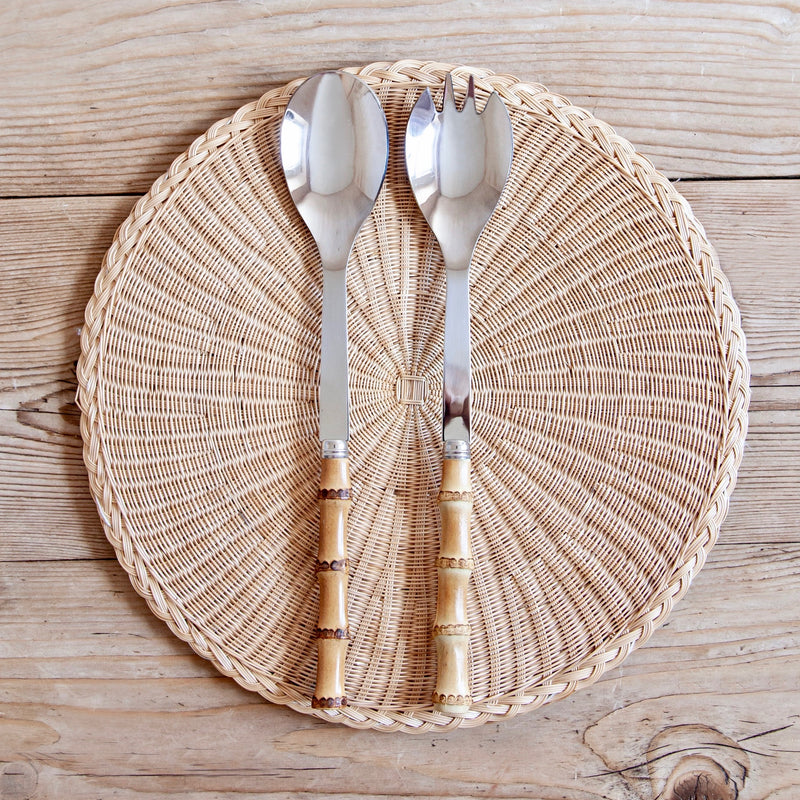 Bamboo Salad Set, 2 pcs