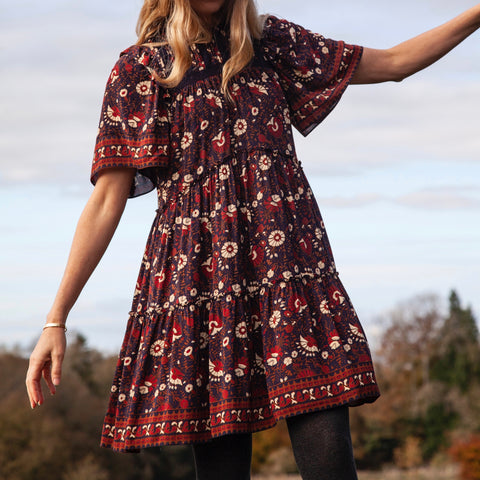 Frankie Floral Tiered Tunic