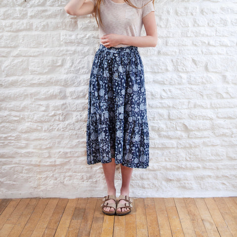 Heart Cotton Skirt