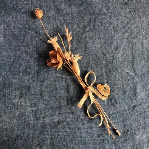 Straw Pin, Wild Flowers Mix