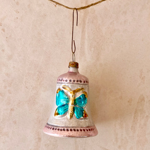Bell Butterfly Ornament