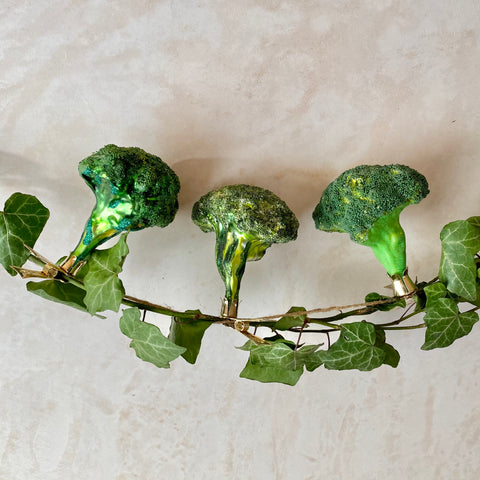 Broccoli, Glass Ornaments