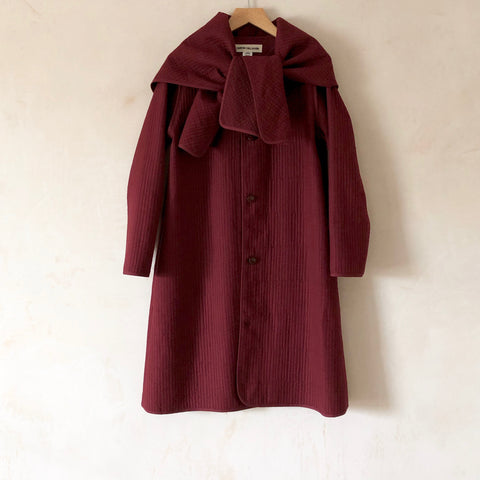 Bea Coat, Quilted Cotton
