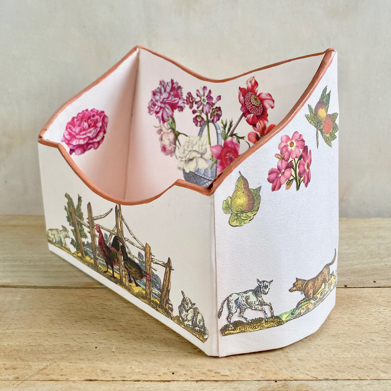 "Baroque Letter Holder, ""Espaliered Pear"""