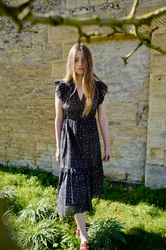 Linnea Cotton & Silk Dress