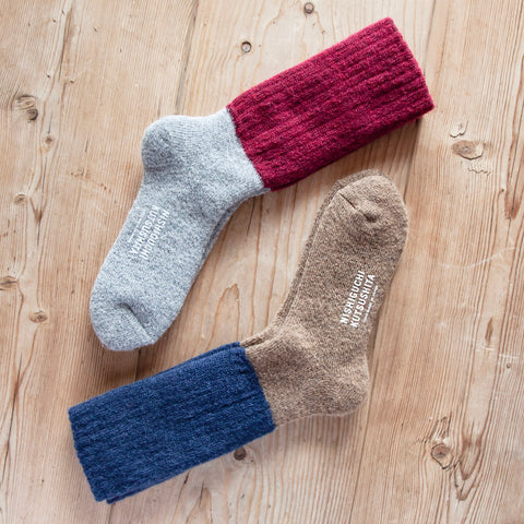 Mohair Wool Pile Socks