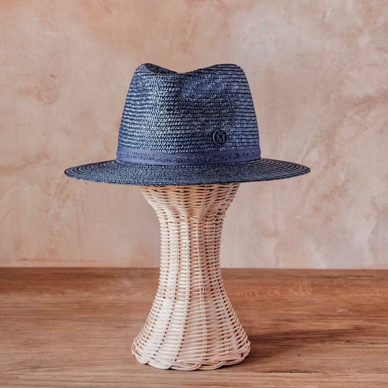 Andre Hat, Straw (Blue)