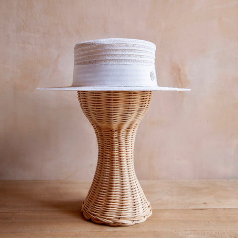Kiki Hat, Straw (White)