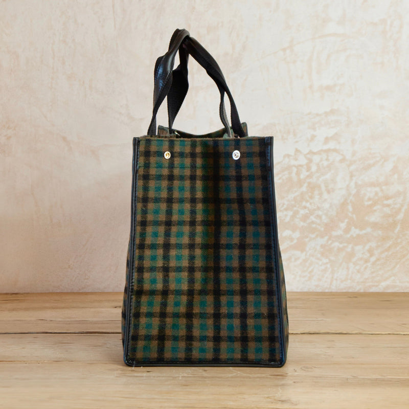 Upper East Flannel Tote, Large