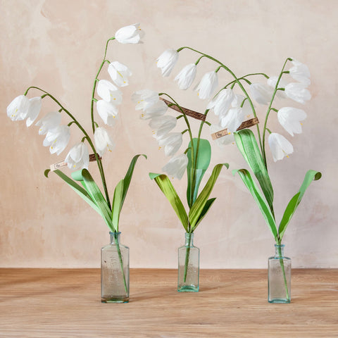 Lily of the Valley Paper Flower Stems