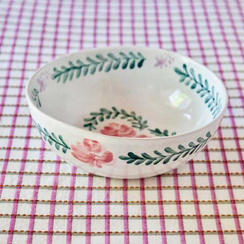 Pair of Hand-Painted Pasta Bowls