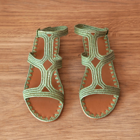 Hind Geo Ankle Strap (Olive)