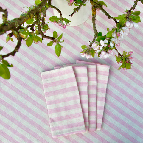 Cotton Napkin (pink gingham)