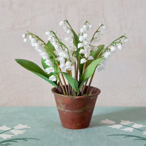 Lily of the Valley Flower Sculpture