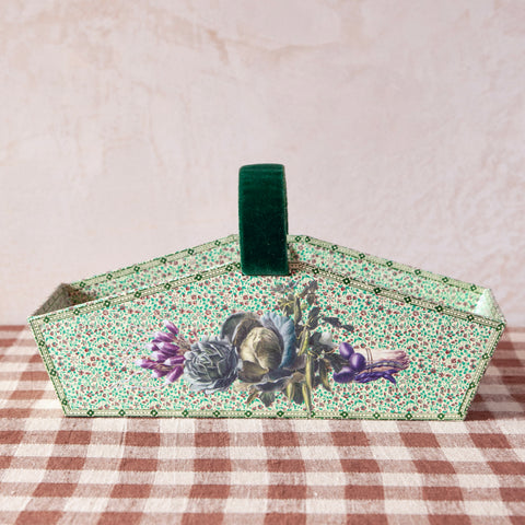 Vilmorin Vegetable Decoupage Stationery Trug