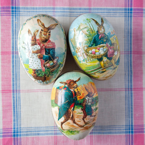 Set of 3 Easter Eggs (12cm)