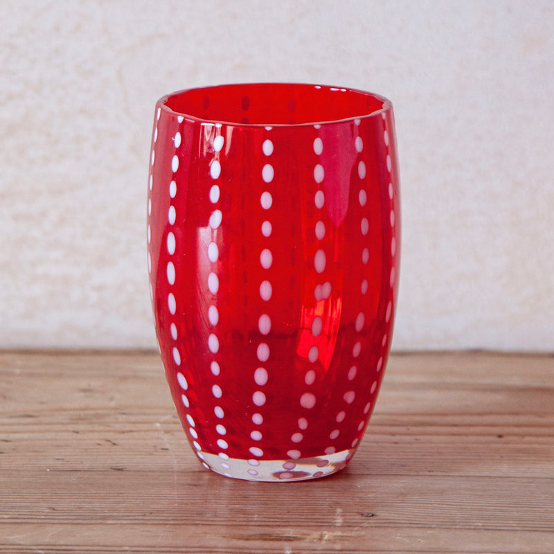 Perle Tumbler, Red