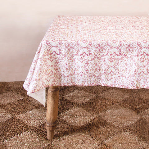 Hand-Printed Table Linen