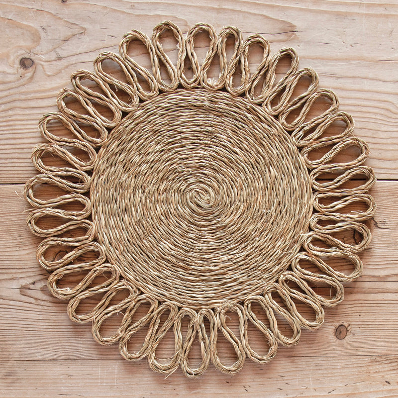 Looped Sisal Placemats (Natural)