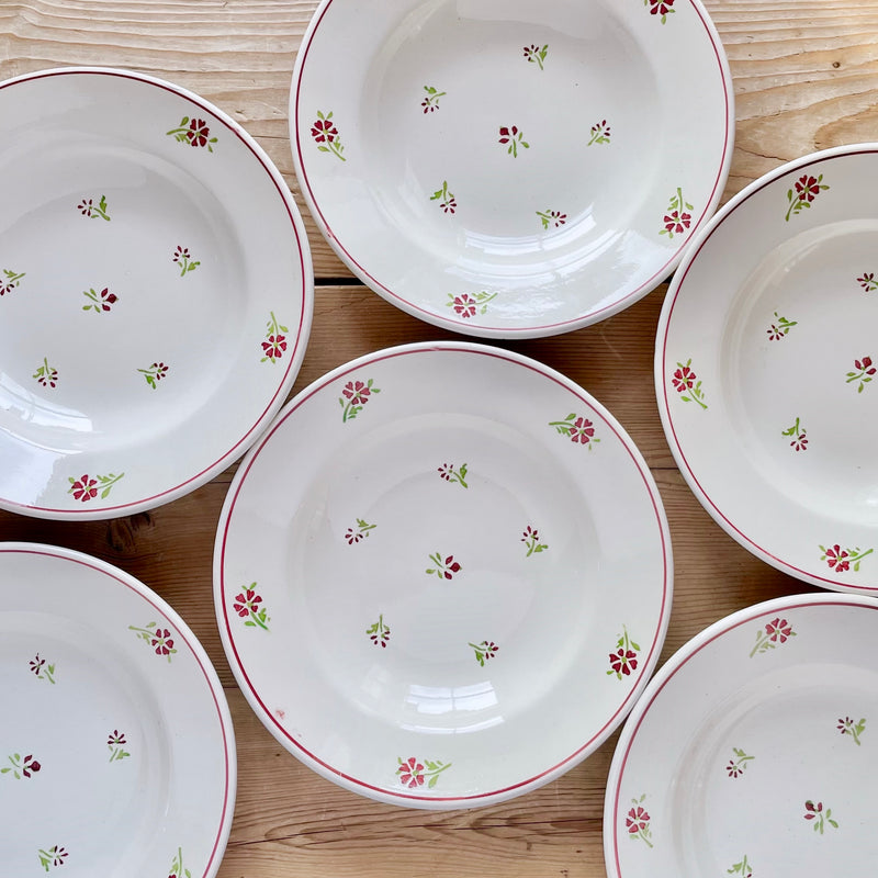 "Set of 6, ""Madrid"" Soup Plates"