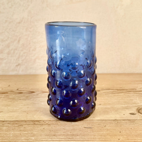 Mouthblown Syrian Recycled Glasses (Cobalt Blue)