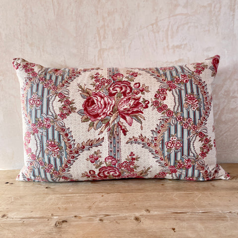19th Century French Linen Cushion