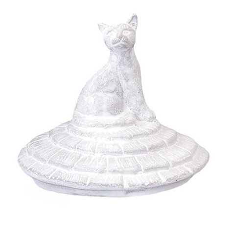 Grand Chalet Cat Candle Lid