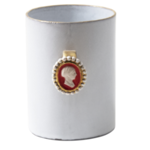 Serena Woman Cameo Ring Cup