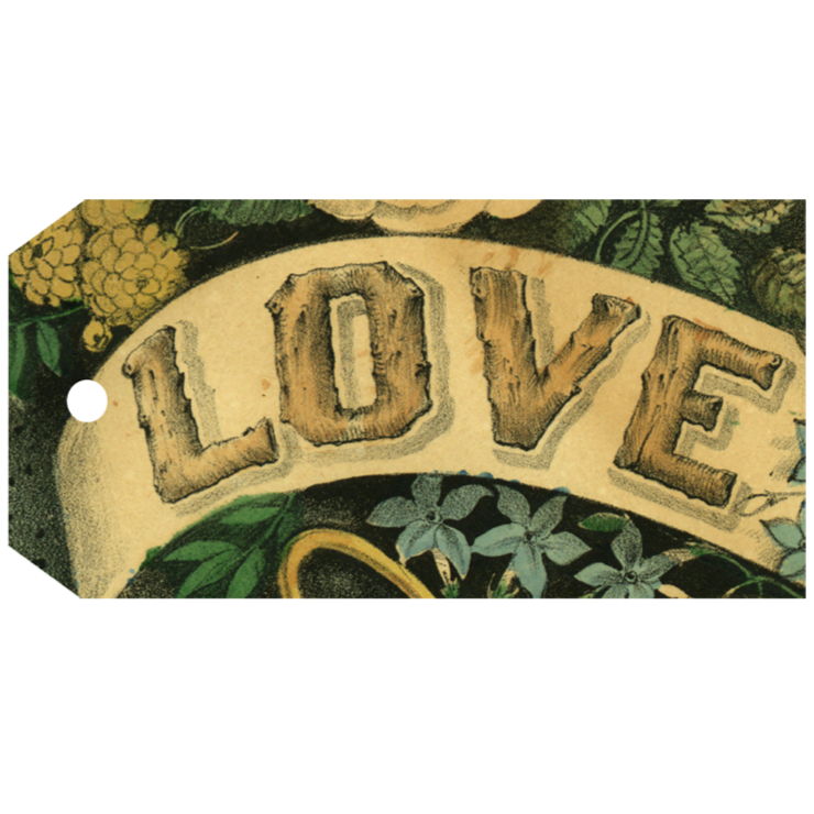 Love Tag, Pack of 5