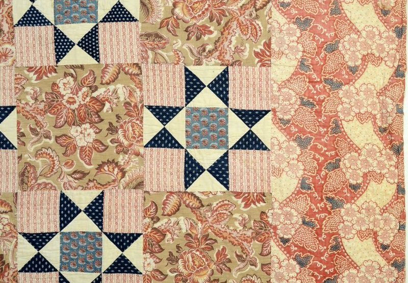 Variable Stars Quilt: Circa 1820's; Pennsylvania