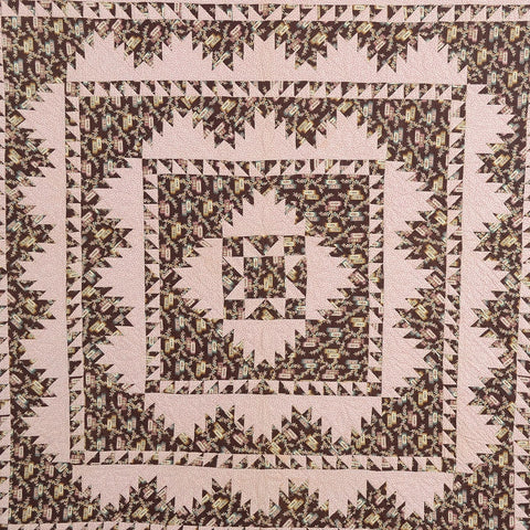 """Delectable Mountains"" Quilt, C.1850, New York"