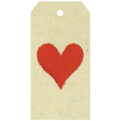 Heart Gift Tag, Pack of 5