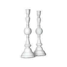 Pair of Istanbul Candlesticks