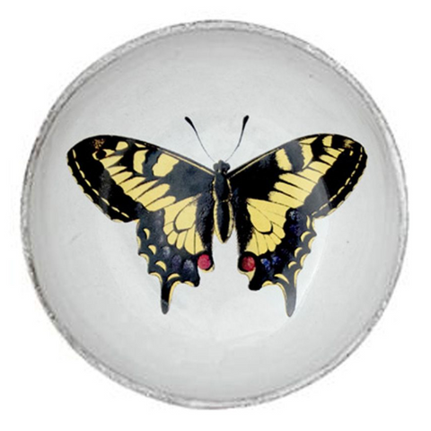 Yellow Butterfly Dish